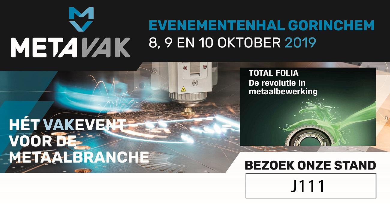 Metavak event voor de metaalbranche | beurs evenementenhal gorinchem 8|9|10 oktober 2019