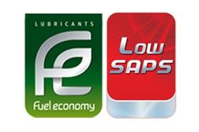 Logo Fuel Economy + Low SAPS