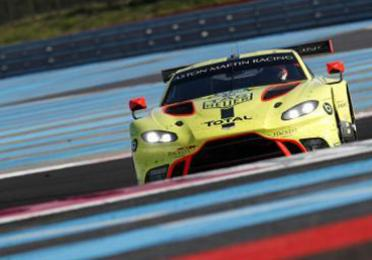 Total 24 hours of le mans aston martin