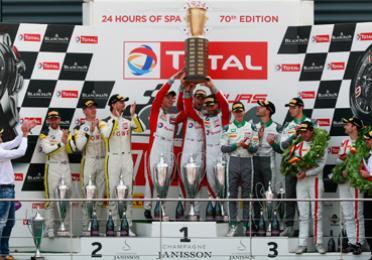 Total automotive motorsport 24 hours of spa