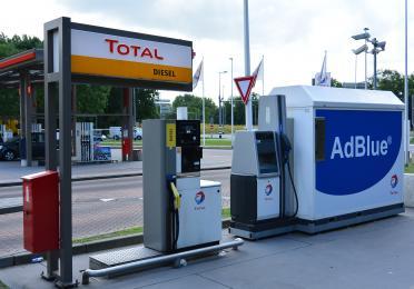 Total diesel pomp