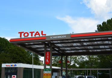 Luifel tankstation