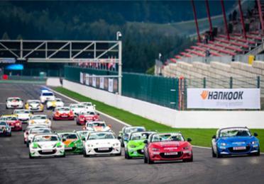 Total Mazda MX-5 Cup Hankook races