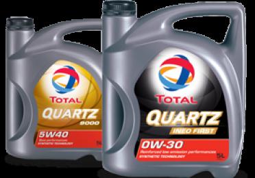 2 verpakkingen van motorolie quartz