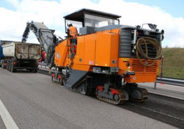 Total bitumen Regenis wegenbouw