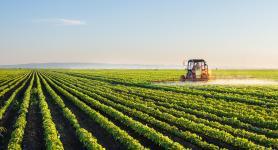Landbouw tractor