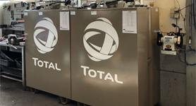 Total Bulktank olie opslag