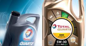 Afbeelding oude en nieuwe verpakking Total Quartz