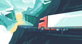 RUBIA motorolie transport