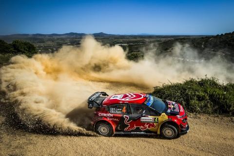 Citroen-TotalEnergies in de WRC World Rally Chanmpionship
