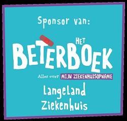 Banner BeterBoek voor zieke kinderen in het LangeLand ziekenhuis Zoetermeer