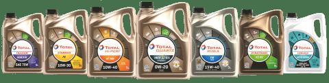 Nieuwe kleinverpakkingen Total Automotive