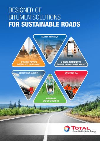 Total bitumen voor duurzame wegen