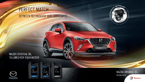 TotalEnergies partnership Mazda