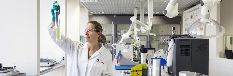 Foto laboratorium