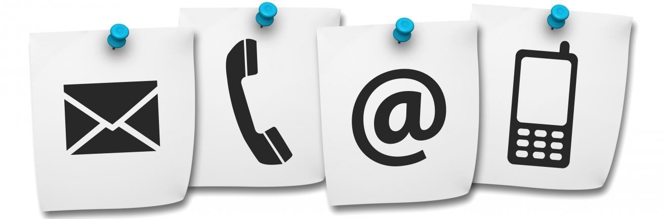 Service en contact: bellen, mailen