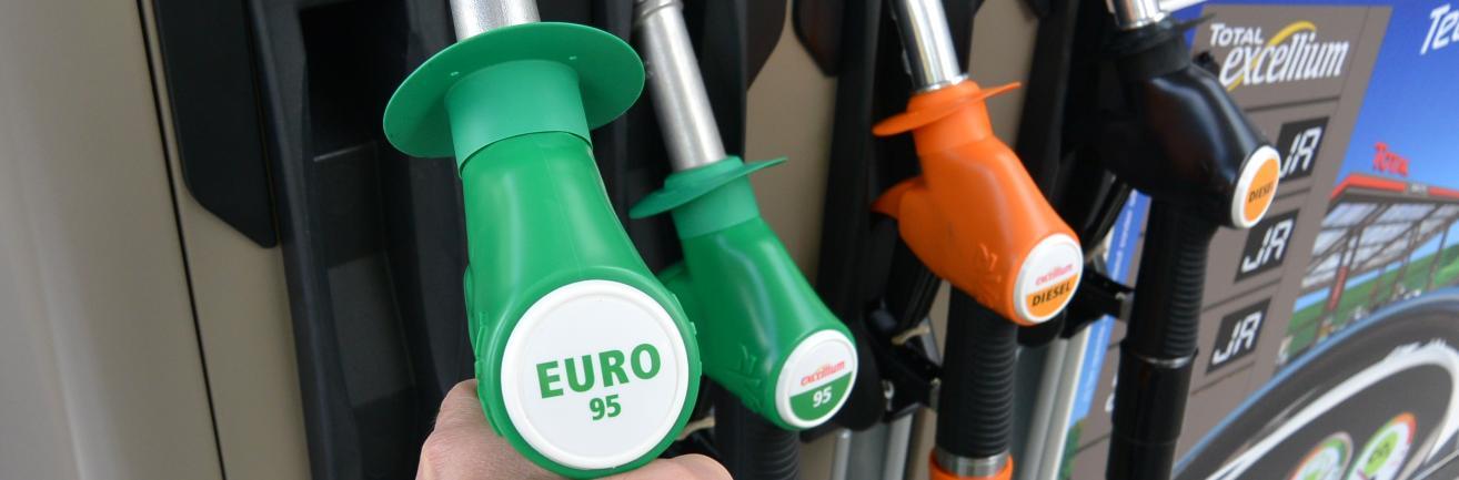 Euro 95 aan de pomp