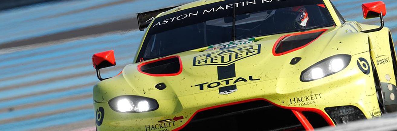 Total 24 Hours of Le Mans WEC FIA race aston martin