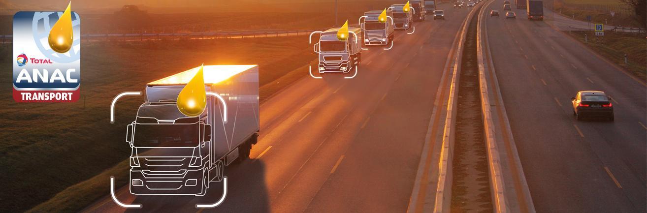 Total ANAC olie-analyse voor transport