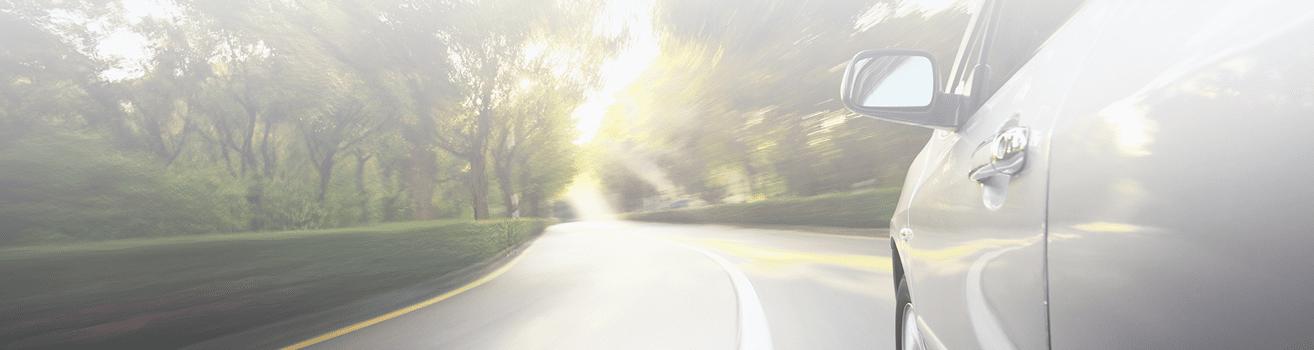 Auto +weg+horizon