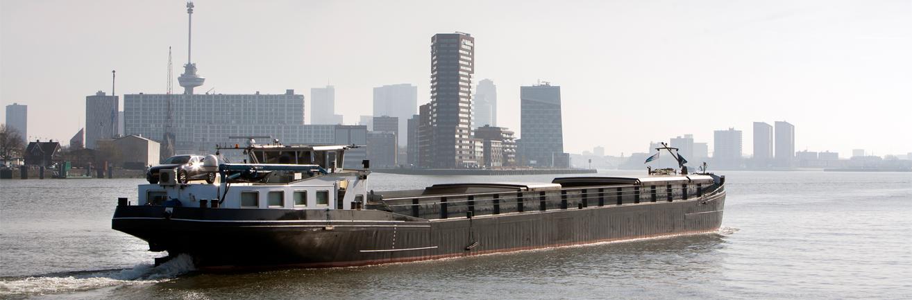 Total hydraulische olie binnenvaart schepen