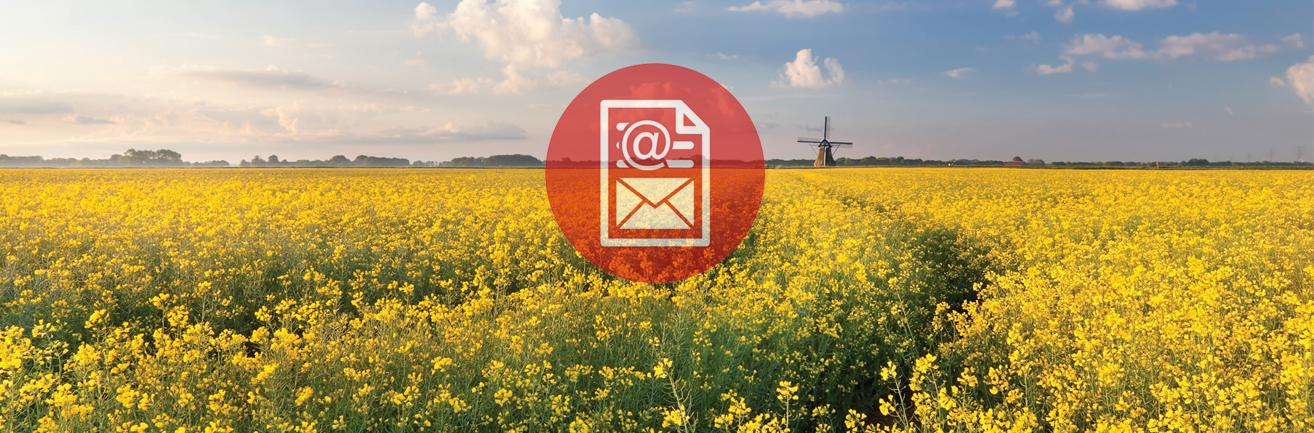 Total Agri inschrijven nieuwsbrief