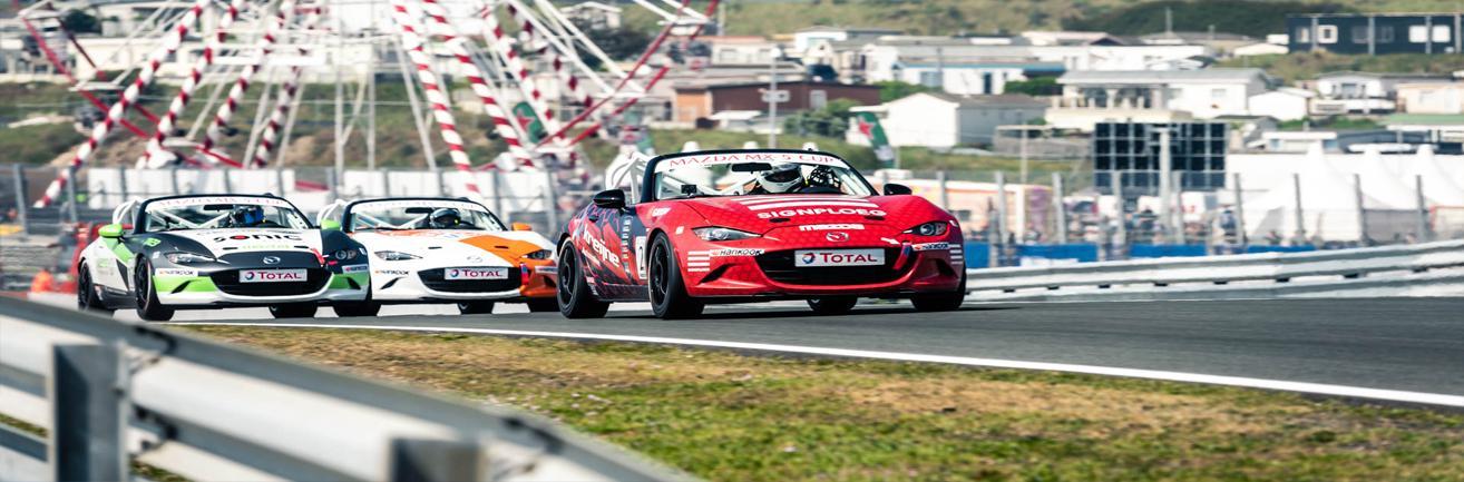 Total Mazda MX-5 Cup racing