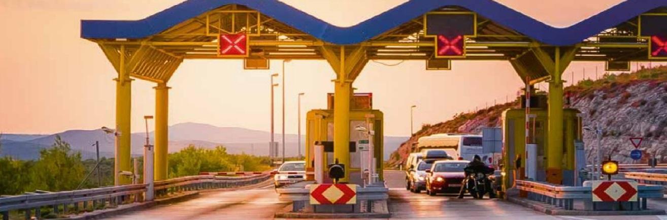 Total liber-t tolbadge voor snel en veilige passage tolpoorten in Frankrijk