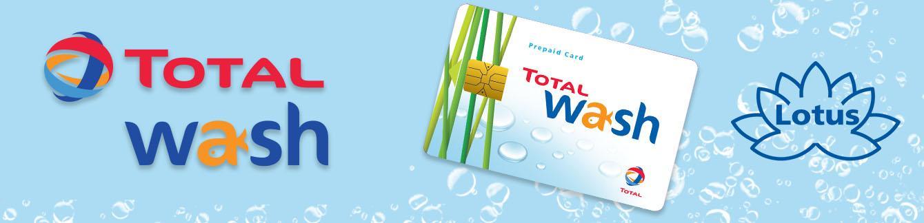 Total Wash kaart