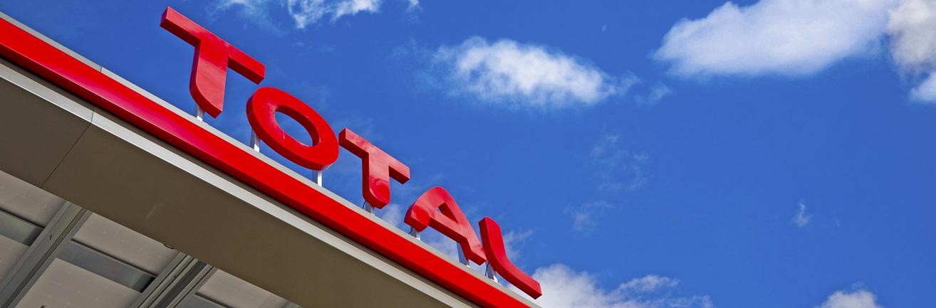 Luifel Total tankstation