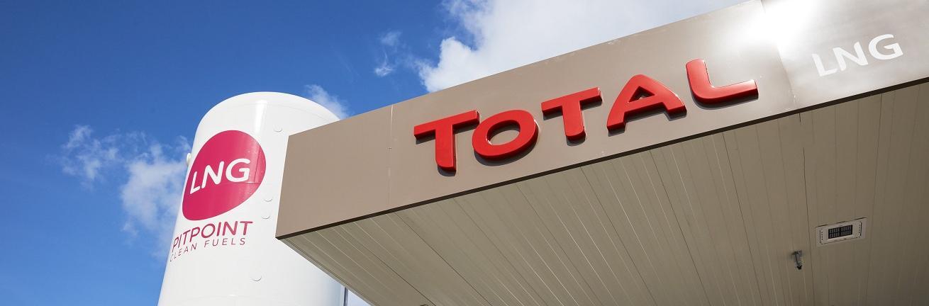 Luifel LNG TotalEnergies tankstation